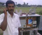 Điều khiển máy bơm nước bằng cuộc gọi nhỡ