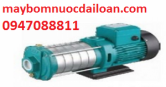 Máy bơm nước đẩy cao trục ngang đầu inox LEPONO EDH 2-40