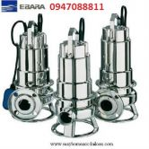 Máy bơm chìm hút bùn Inox Ebara nhập khẩu DW VOX M 100A