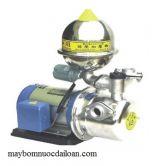 Máy bơm tăng áp vỏ gang đầu inox 1HP HJA 225-1-75 26