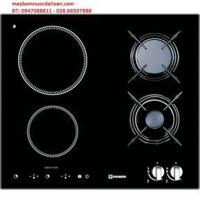 Bếp hổn hợp Faber FB2IN2G (2 bếp từ, 2 bếp gas)