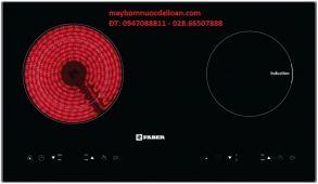 Bếp điện hổn hợp Faber FB-INE ( 1 bếp điện từ + 1 Bếp hông ngoại)
