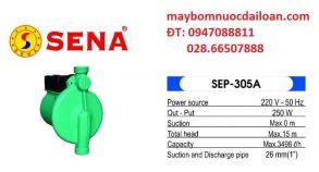 Máy bơm tăng áp điện tử Sena Sep-305A