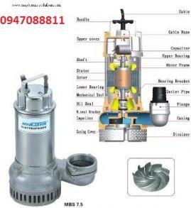 Máy bơm chìm hút nước thải Mastra MBS-750