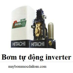 Máy bơm tăng áp biến tần Hitachi WM-P400GX